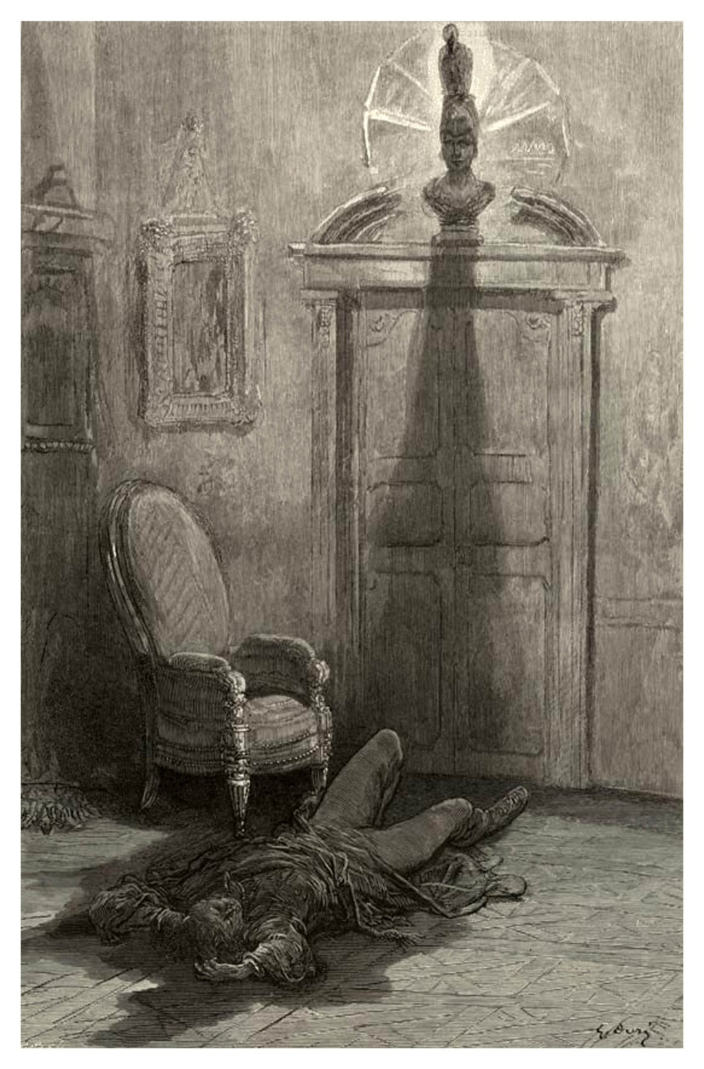 Gustave Dore - The Raven - My Soul from out that Shadow  - P26 - Ilustración 07