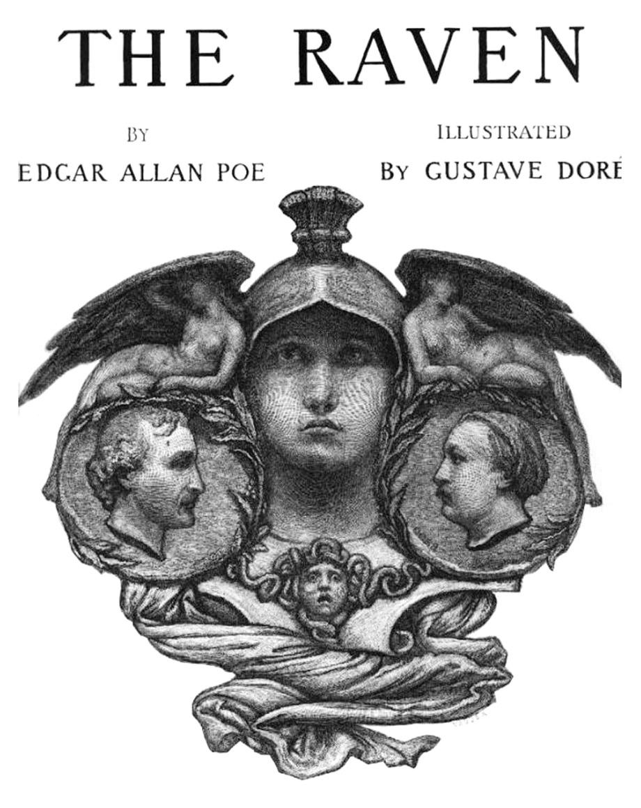 Gustave Dore - The Raven  - P01 - Ilustración 01
