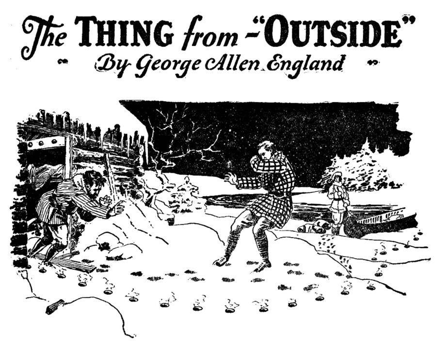 Amazing Stories 01 - April 1926 - Pag 07 - F.R.Paul - The Thing from Outside