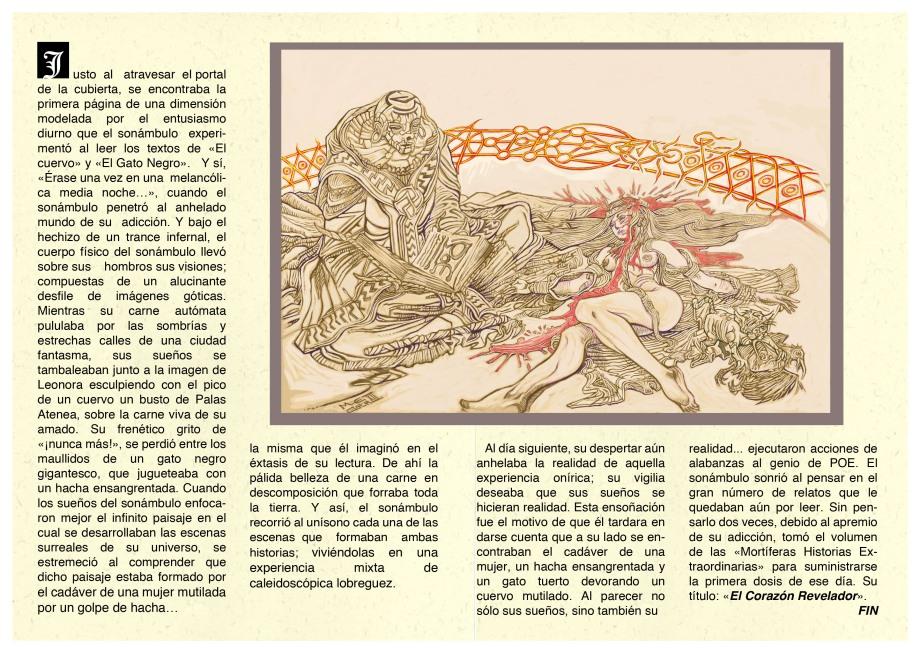 Un Sonámbulo Adicto a Poe - 04 / Por Odilius Vlak - Markus E. Goth
