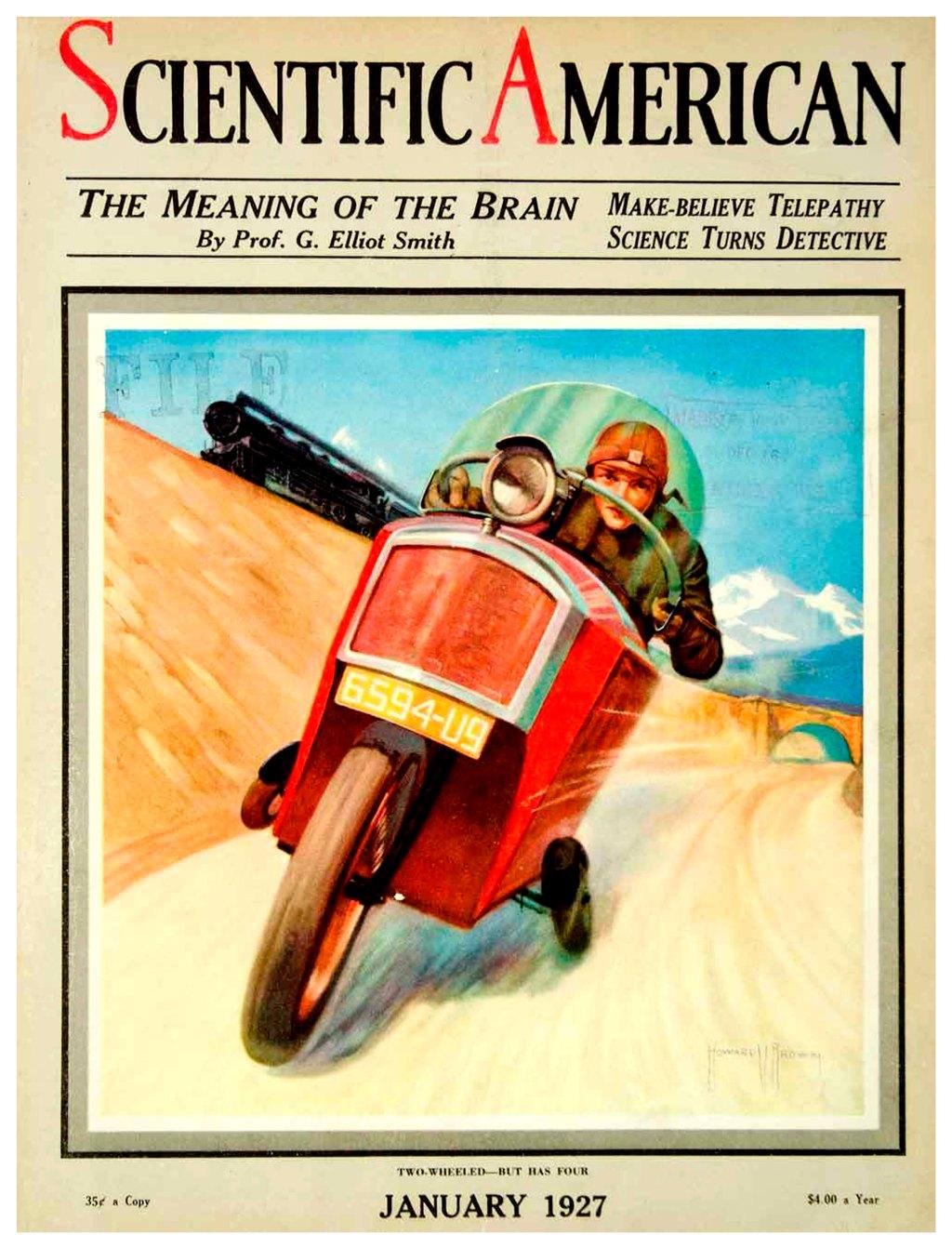 Scientific American - January 1927 - Howard V. Brown